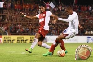 Laga PSM Makassar-Persipura Berakhir Imbang 2-2