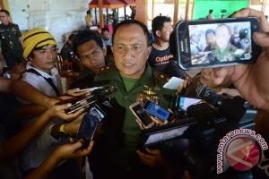 Pangdam Hasanuddin Kunjungi Tokoh Nasrani