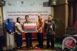 PT BEI Serahkan Ambulance Pada Yayasan Arifah