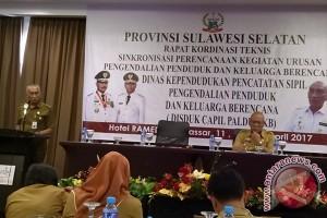 Sulsel Sinergikan Program Pengendalian Penduduk