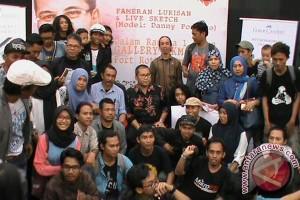 Wali Kota Jadi Model Sketsa Live