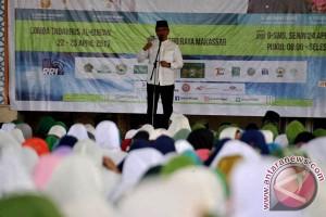 Wagub Luncurkan Gerakan Sulsel Mengaji Dan Sholawat