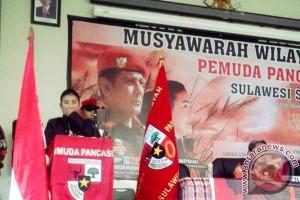Diza Ali Kembali Pimpin Pemuda Pancasila Sulsel