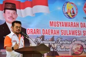 Syahrul: Orari Berperan Jaga Perdamaian Dan Persatuan