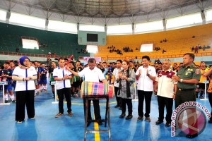 Wagub Buka Kejurda Asosiasi Futsal Provinsi Sulsel