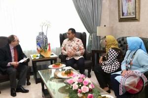 Dubes Prancis-Wali Kota Makassar Jajaki Kerjasama