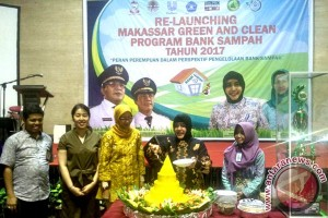 Ketua PKK Luncurkan Makassar Green And Clean