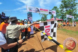 49 Peserta Racing Off-Road Jajal Sirkuit Sudiang