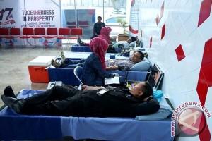 Sambut HUT Telkomsel Gelar Donor Darah