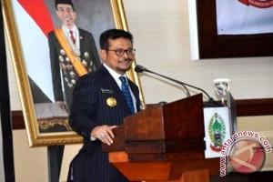 Syahrul Bekali Kepala Daerah Tingkatkan Daya Saing