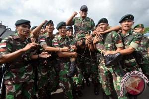Satgas Pamtas Darat RI-PNG Temukan Lima Patok