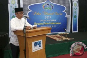Wagub Buka Pekan Tilawatil Qur`an RRI Makassar
