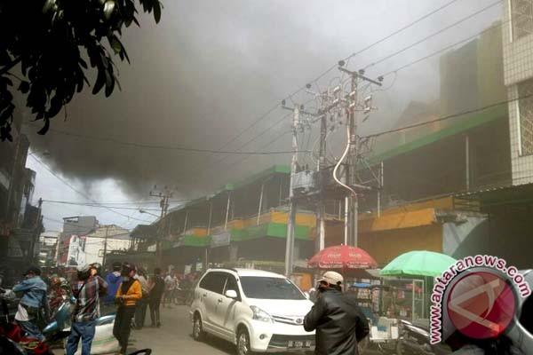 Pasar Grosir Butung Makassar Terbakar