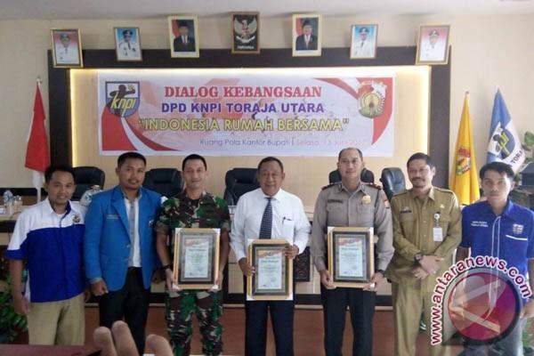 Bupati Toraja Utara Apresiasi Dialog Kebangsaan