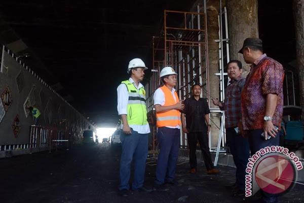 DPRD  Sulsel Kunjungi Proyek Simpang Lima Mandai