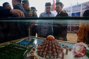 Gubernur Pancangkan Tiang Masjid Kubah 99 CPI