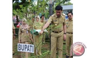 Bupati Gowa Tanam Pohon Di Peringatan HLH