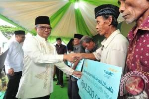 Wagub Apresiasi Santunan Bank Syariah Mandiri