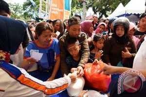 Pasar Murah Peduli Rakyat Sebar 11.500 Sembako
