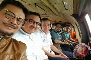 Helikopter Gubernur Mendarat Darurat Di Takalar