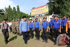 Polres Bulukumba Apel Gelar Pasukan Operasi Ramadniya 2017