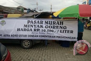 Perusahaan Sawit Gelar Operasi Pasar Minyak Goreng
