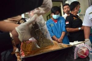 BNNP Sulsel Musnahkan 2,6 Kilogram Ganja Kering