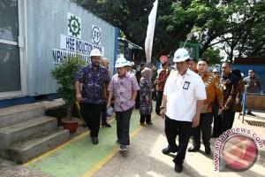 JK Kunjungi Proyek Nipah Mall Makassar
