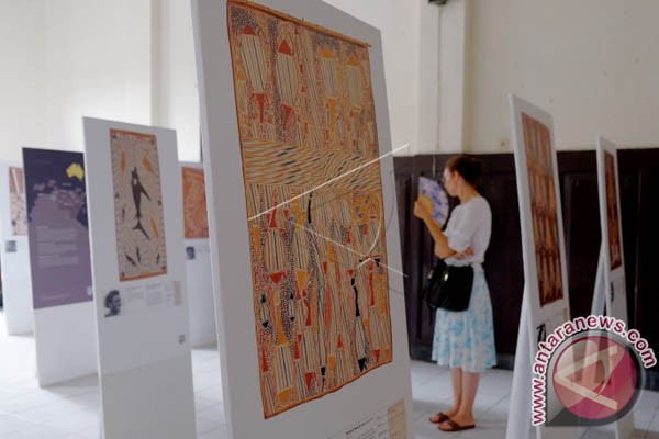 Pameran Kolaborasi Seni Tradisi Makassar-Aborigin Digelar