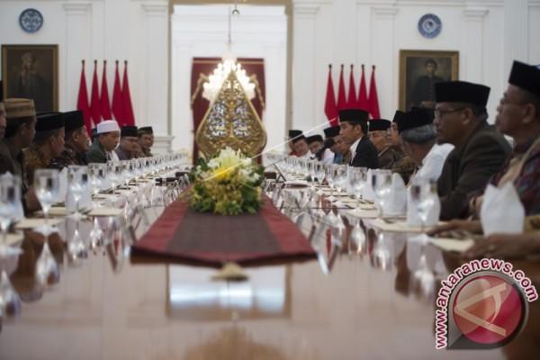 Presiden Temui Ulama Asal Sulawesi Selatan