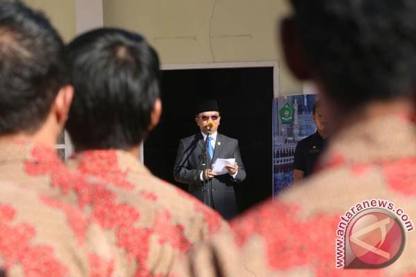 Wagub Sulsel Inspektur Apel Siaga PPIH Makassar