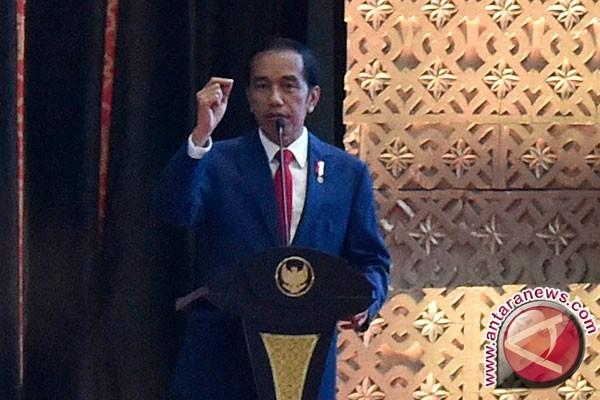 Jokowi Ajak Seluruh Daerah Contoh Pertumbuhan Sulsel