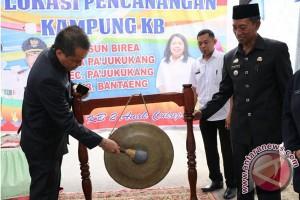 Sekda Canangkan Dua Kampung KB Bantaeng