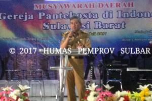 Gubernur Sulbar Harap Umat Beragama Harmonis