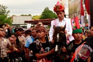 Presiden Imbau Pemda Jaga Kebudayaan Masyarakat Sumba