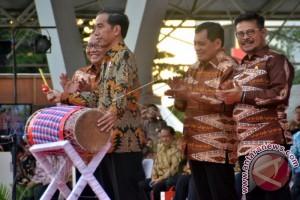 Presiden Jokowi Buka Harkopnas Di Makassar