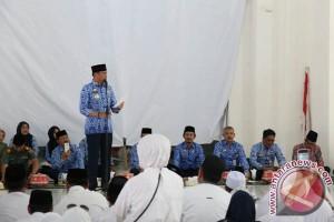 Adnan Lepas Pemberangkatan 605 Calon Haji Gowa