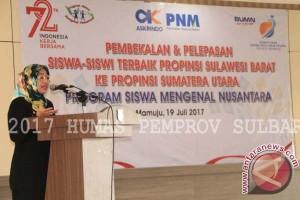 Wagub Sulbar Lepas SMN Ke Sumatera Utara