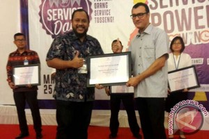 "PT KIK Raih Penghargaan ""The Best Service"""