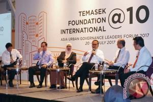 Wali Kota Pembicara Di HUT Temasek Singapura