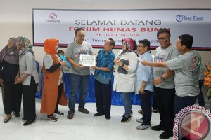 Humas BUMN Kunjungi Kantor Media Di Makassar
