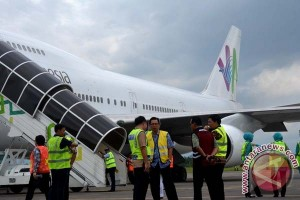 Garuda Siapkan Dua Pesawat Layani Embarkasi Hasanuddin