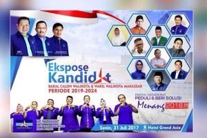 Demokrat Makassar Gelar Pemaparan Visi-misi Bakal Calon