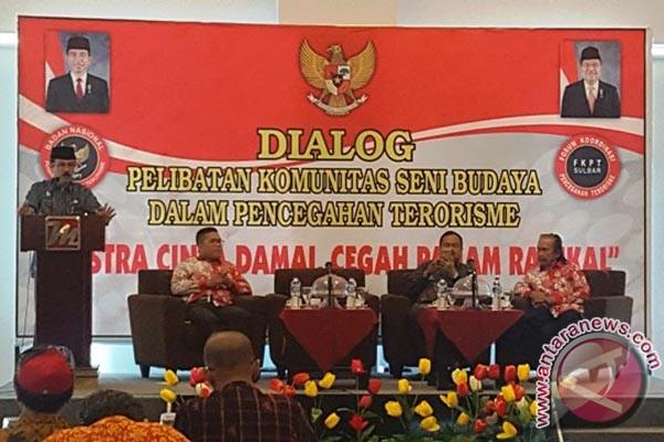 FKPT Sulbar Ajak Komunitas Seni Tangkal Terorisame