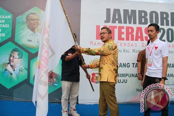 250 Siswa-Mahasiswa Mamuju Ikuti Jambore Literasi