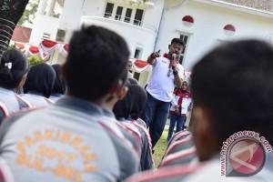 Gubernur Sulsel Semangati Paskibra