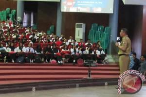 Wawali Makassar Motivasi Ribuan Mahasiswa Unhas