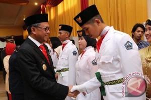 Bupati Kukuhkan 72 Paskibra Kabupaten Bantaeng
