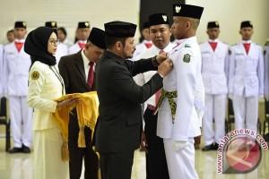 Gubernur Kukuhkan Paskibra Tingkat Sulsel