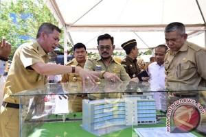 Gubernur tinjau pembangunan RSUD Labuang Baji